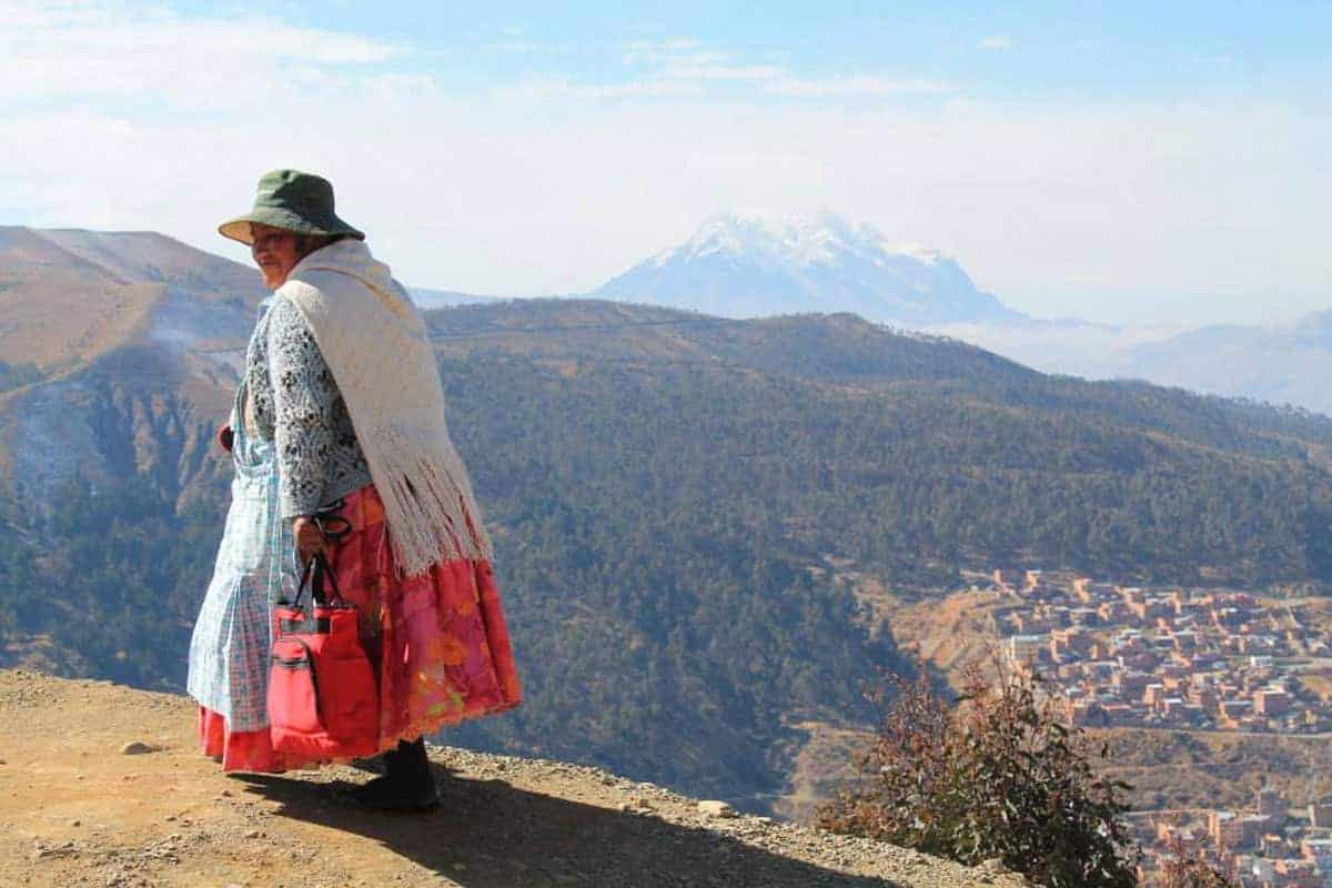 The people of La Paz, Bolivia, are used to the altitude.