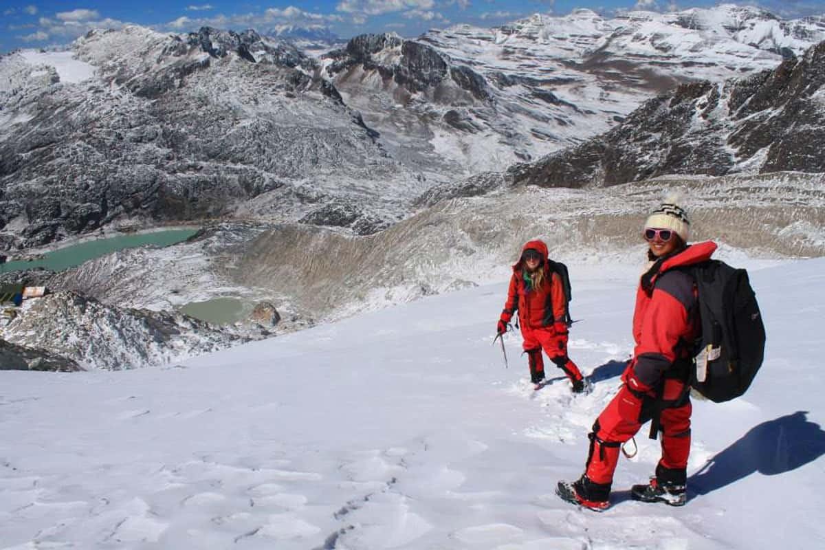Trekking Huayna Potosí, Bolivia