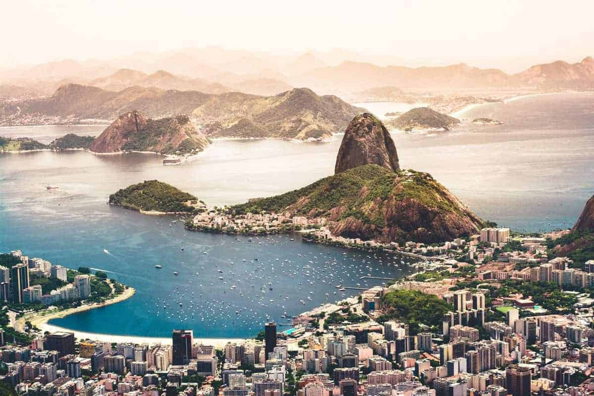 A View Across Rio de Janeiro