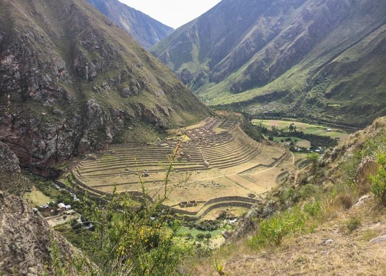 Scenery along the Inca Trail.