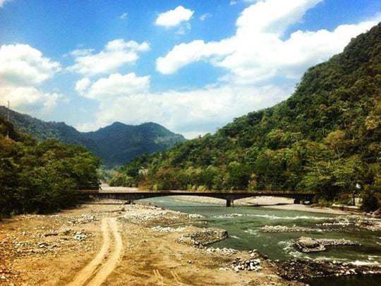 A Bridge Over The River in Villavicencio, Colombia.