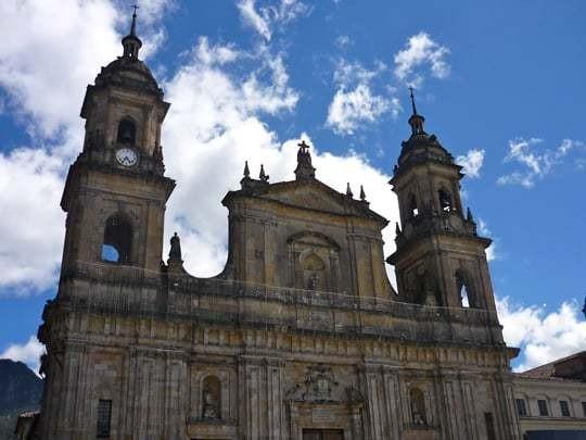 Church in Bogotá, Colombia