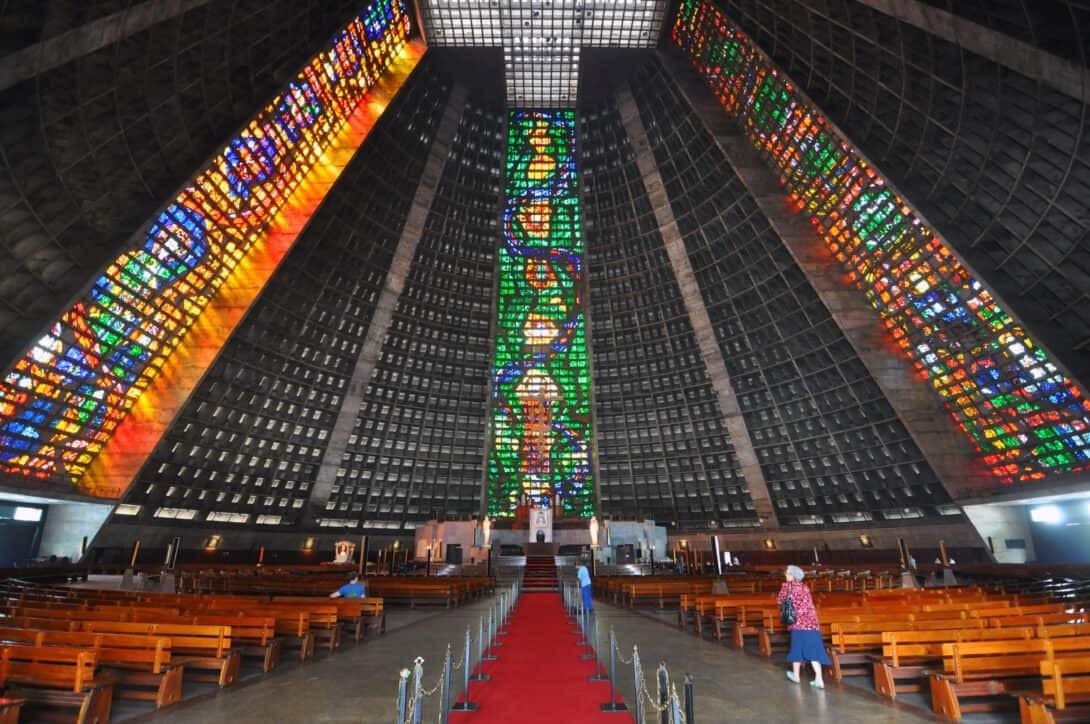 Cathedral de Sant Sebastian, Rio de Janeiro.
