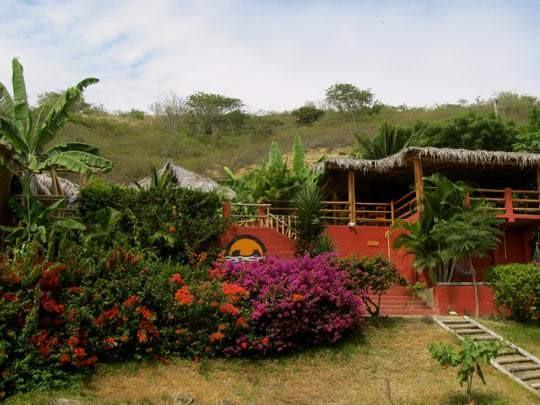 The Garden at La Buena Vida, Ayampe, Ecuador