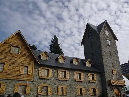A Stone Building in Bariloche, Argentina