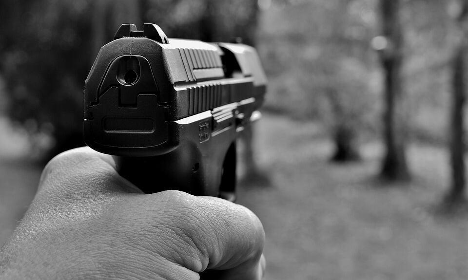 Pistol pointing