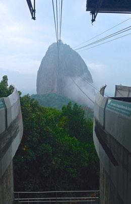 Sugarloaf Mountain Seen From The Cable Car