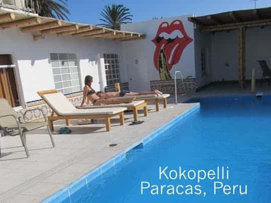 The Pool At Kokopelli, Paracas, Peru