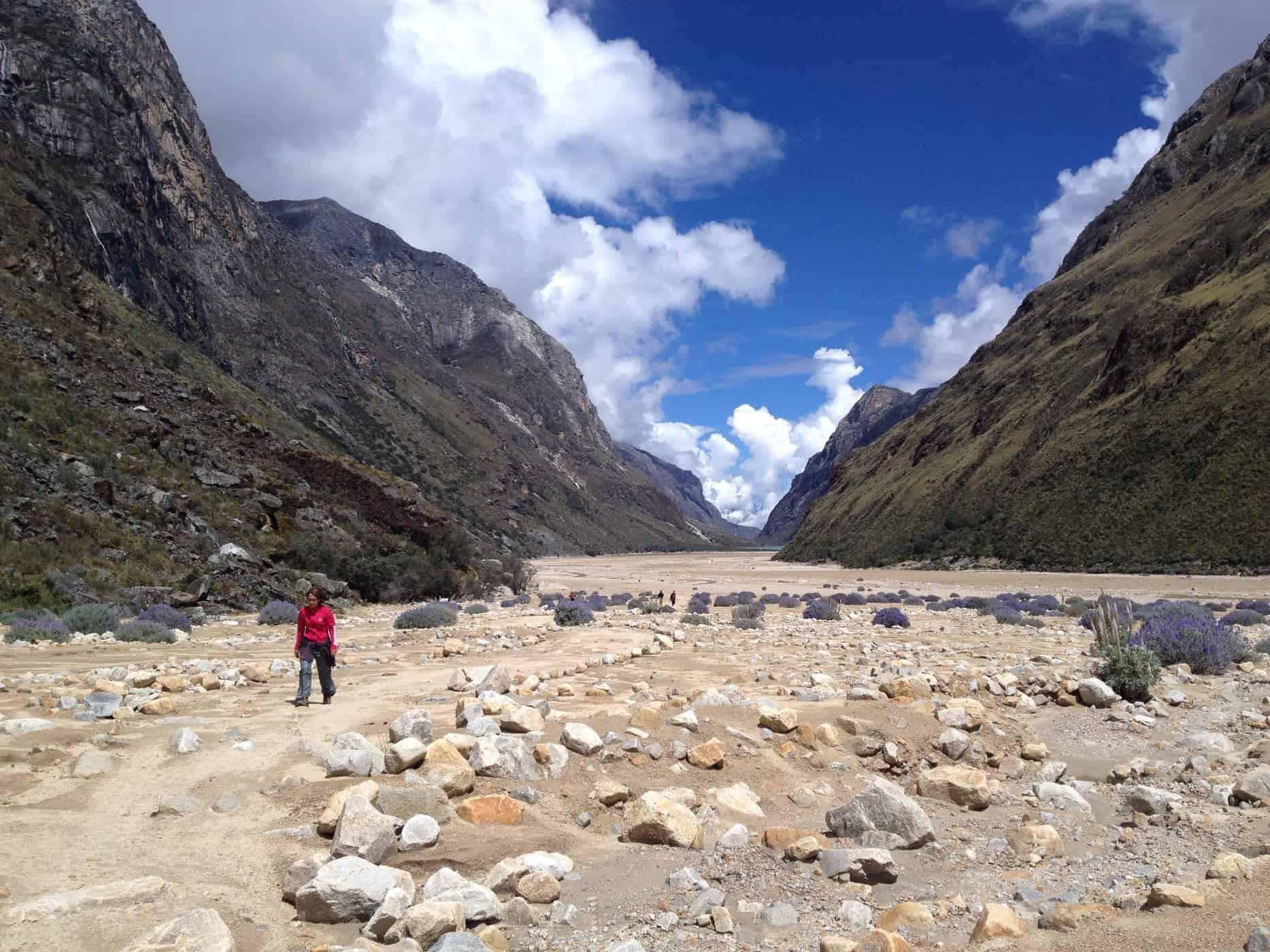The amazing mountain desert, Huaraz, Peru.