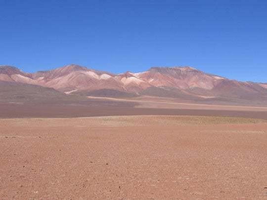 A Desert Scene in Bolivia
