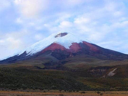 Snow-Capped Cotopaxi, near Latacunga, Ecuador