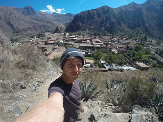 Ollantaytambo Selfie