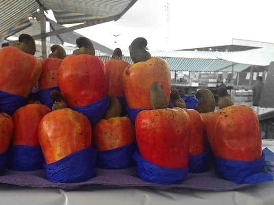 Exotic Fruit at a Sao Paulo Market