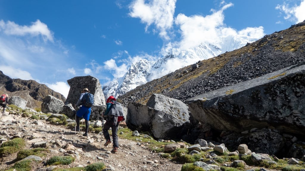 Fit Guys Hiking To Machu Picchu