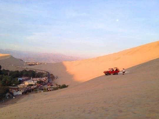A Dune Buggy in Huacachina