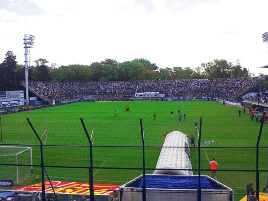 View From The Stands at La Cancha del Lobo