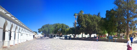 The Main Square in Cachi