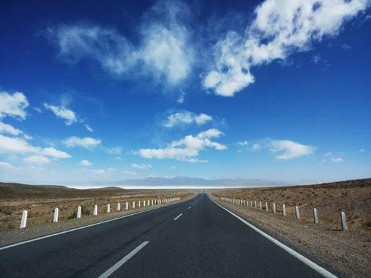 The Road, Ruta 40, Heading to Salinas Grandes