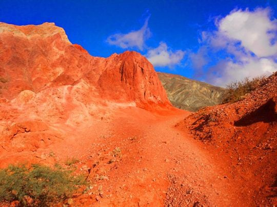 Dry Red Hills in Purmamarca