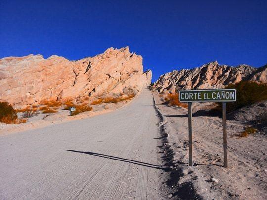 Traveling on Ruta 40 Salta - Cachi