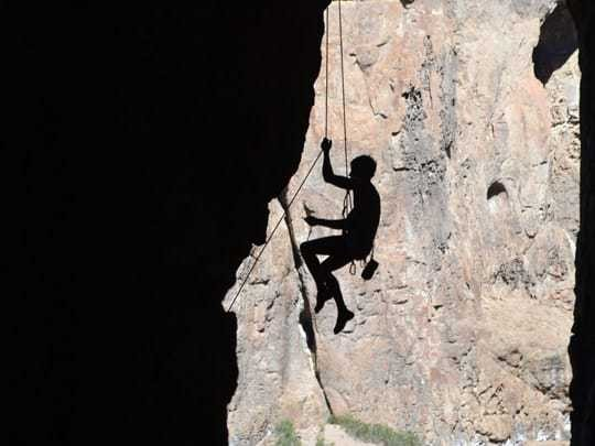 EDIT - february 2014, Argentina, climbing at Piedra Parada