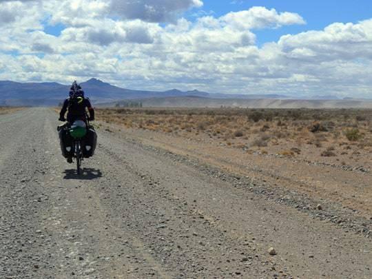 EDIT - february 2014, Argentina, way to Piedra Parada climbing site