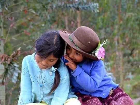 EDIT - september 2013, Peru, Ancash, children of a village