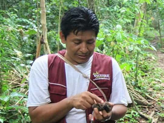 Indigenous Farmer, Wilman Matty in Bolivia