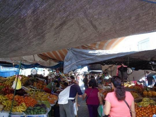 Surf Ilo Peru Local Market