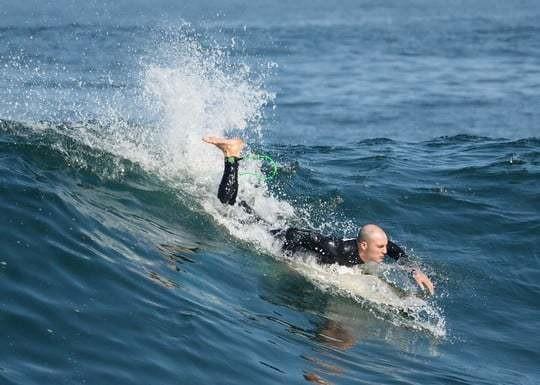 Surf Ilo Peru Paddle Launch