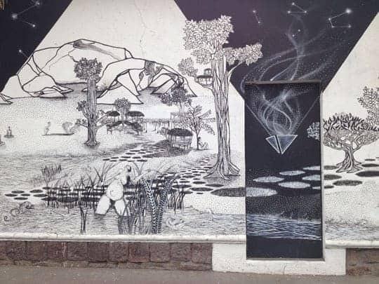 EDIT - Santiago street art.