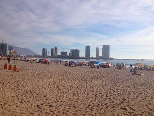 The Beach in Iquique Chile