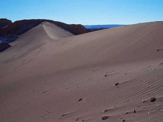 Desert in Valle de la Luna, San Pedro de Atacama