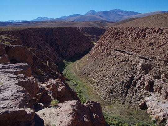A Shot of The Valley in El Tatio, San Pedro de Atacama