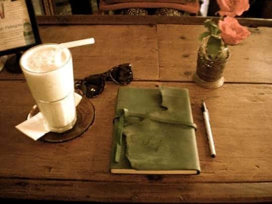 A Journal, A Milkshake, Some Sunglasses