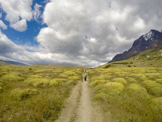 Deserted Countryside in Puerto Natales,  Chile