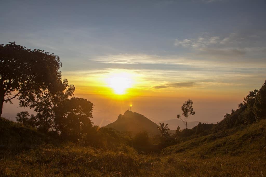 Cerro Kennedy sunset