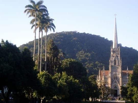 A Church In Petrópolis