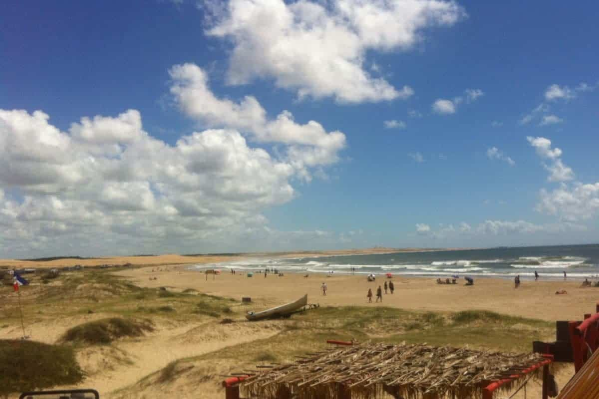 The beach at Cabo Polonio