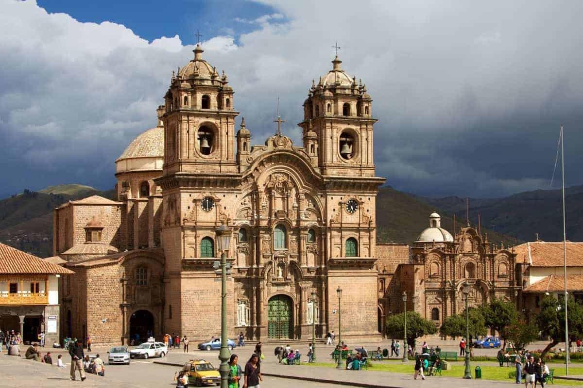 Cusco Cathedral, Plaza Mayor, Cusco, Peru