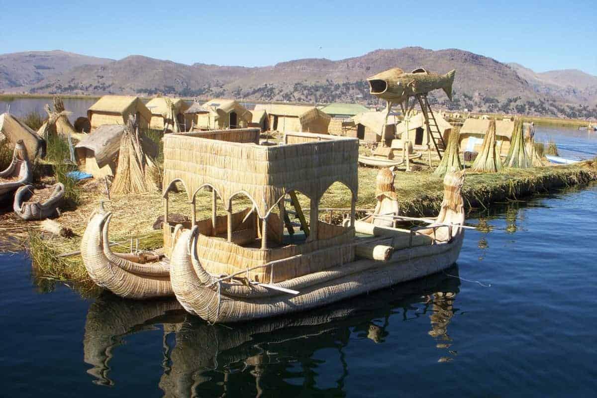 The Floating Islands, Puno, Peru