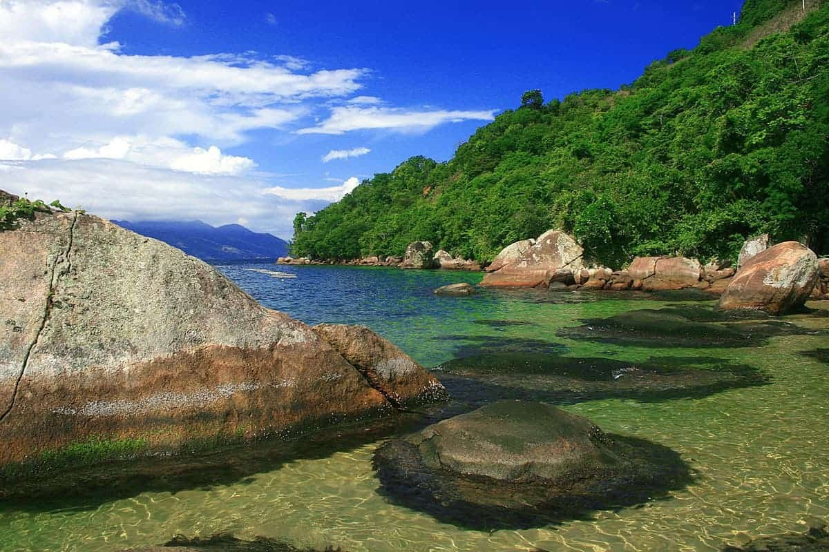 Clear Water Off Ilha Grande