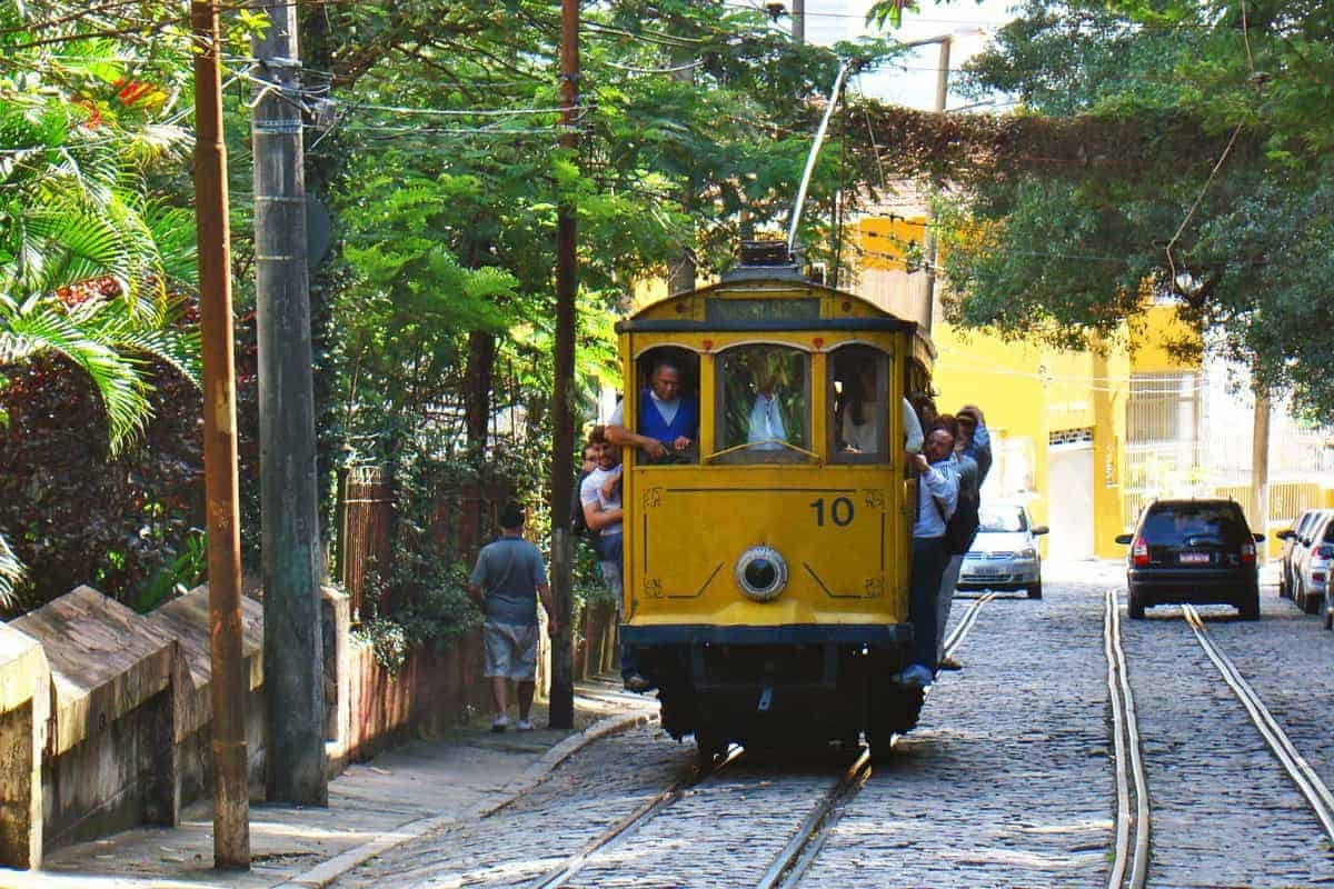 Rio-de-Janeiro-Brazil-Tram