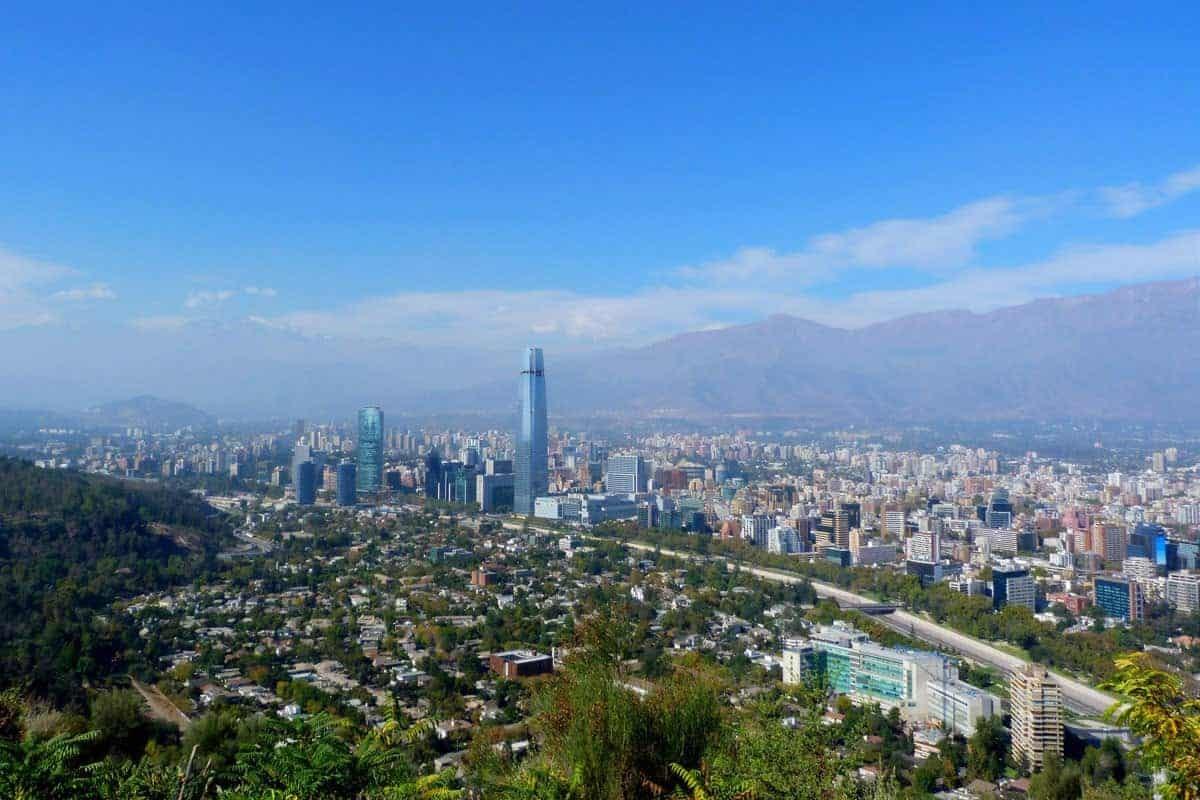 A View Across Santiago de Chile