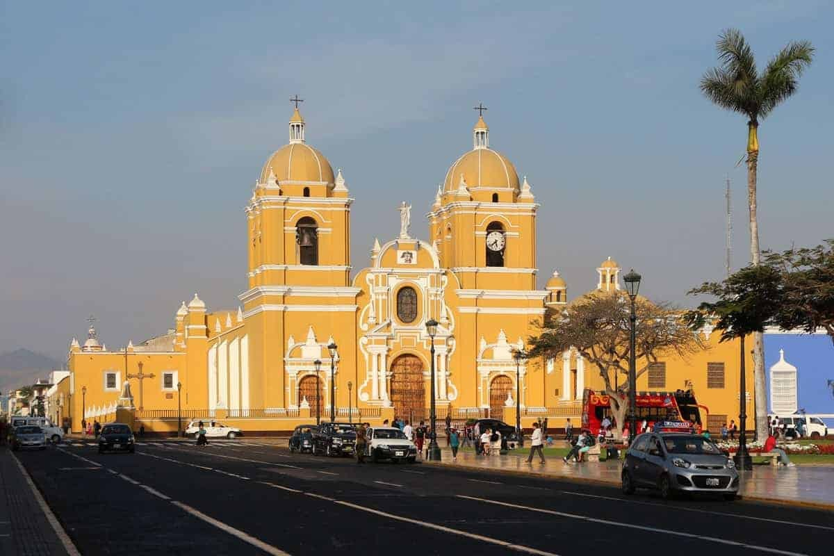 The Yellow Cathedral. Trujillo