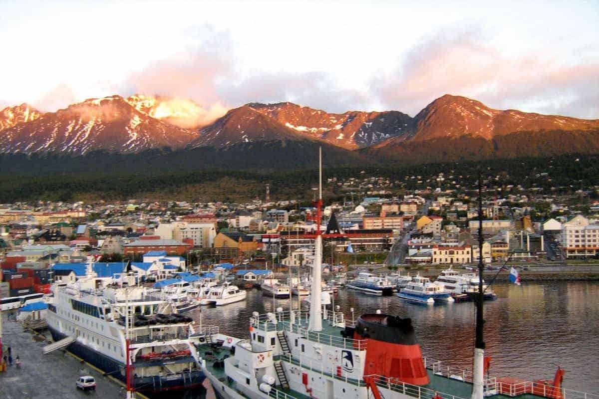 Ushuaia Port Argentina