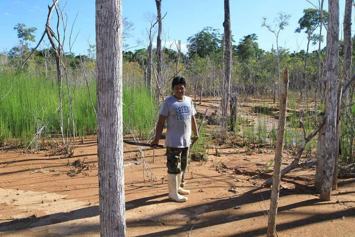 Wilman Matty, Indigenous Farmer in Rurrenabaque