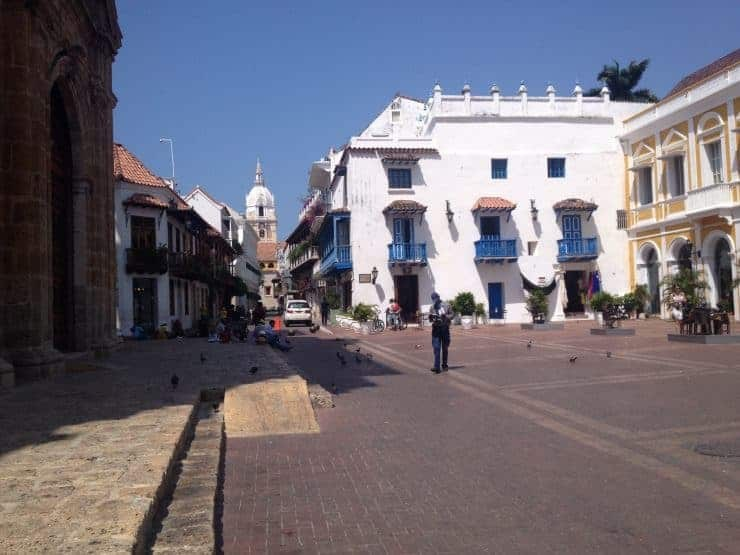 The colonial centre of Cartagena, Colombia