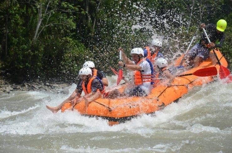 Rafting Jatun River, Ecuador