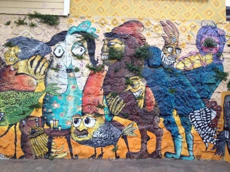 Grafitti in Valparaiso, Chile